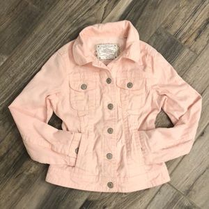 Old Navy Pink Corduroy Jacket